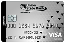 Business credit cards union state bank west salem wi business card options reheart